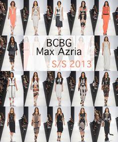 BCBG Max Azria SS 2013 runway