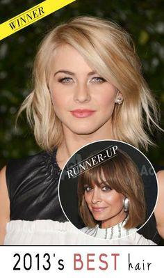 See 2013's best celebrity hair.