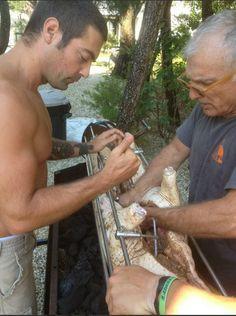 Anthony Carrino and his Dad. (KitchenCousinsHGTV)