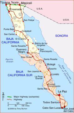 Oh Baja Map