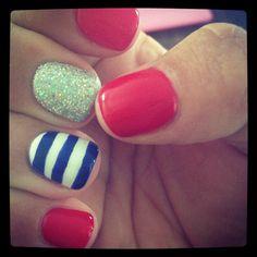 Fourth of July Nails #sephoranailspotting #mynailtechisbetterthanyours