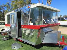 1960 Holiday House Travel Trailer at the Palm Springs Modernism weekend, 2012.
