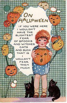 On Halloween...