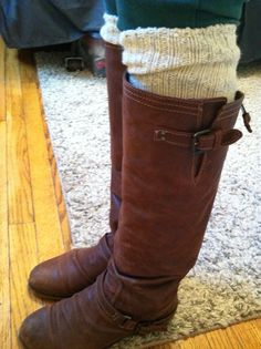 Fall boots, but it's the leg warmer's I want.
