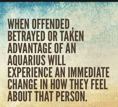 when offended...