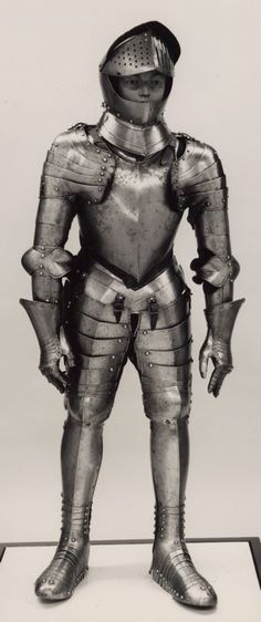 European    Composite Armor for a Youth, c. 1580 with later additions    Steel, leather  - Art Institute of Chicago