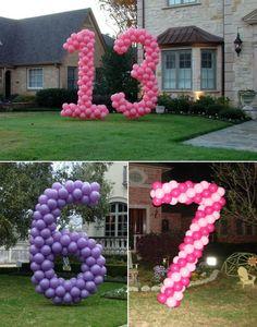 birthday parti, kids birthday decorations, birthday ideas for kids, birthday balloon numbers, birthday yard decorations, birthday decorations ideas, balloon decoration, birthday party ideas for kids, birthday balloons decorations