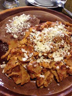 Chilaquiles purepechas
