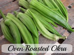 Jessi's Oven Roasted Okra