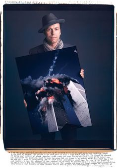 Really cool project: Famous Photographers Holding Their Iconic Photographs.