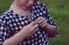 OshKosh gingham check shirts for kids #OshKoshFirstDay