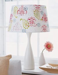 Easy decorated lamps