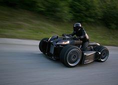 Wazuma W-Wheel Vehicle by Lazareth: Batman, is that you?