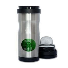 green witch clear.png Tea Tumbler