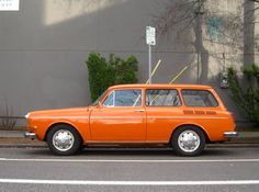 Smokin'! 1970 Volkswagen Type 3 1500 Variant Squareback Wagon