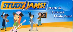 Free Educational Resource: Study Jams!  is a collection of free educational videos covering over 200 math and science topics.
