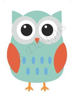 Owl Nursery Print