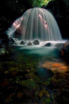 Mikaduki Falls, Tamura Fukushima, Japan