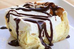 Chocolate Eclair Cake!