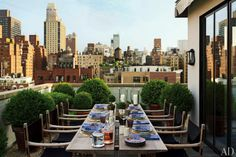 NYC Penthouse - outdoor dining