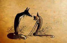 fox art | Tumblr