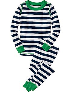 Hanna Anderson PJ's! They are the best - so well made. The Navy with green is my favorite color. I like the pink/purple ones too.