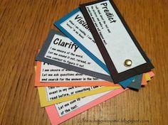 DIY Reading Strategy Fans! - The Organized Classroom Blog