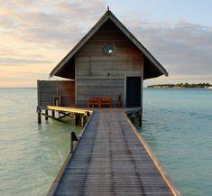 Cute little place on Cocoa Island, Maldives