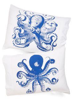 Cephalopod Pillowcase Set