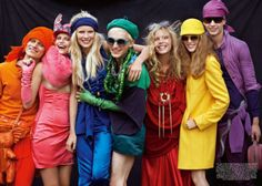 colour, colorful fashion, colors, rainbows, cube parti