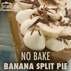 No -Bake Banana Split Cake