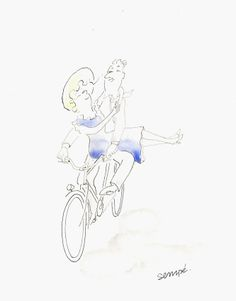 Two On A Bicycle III, 2012