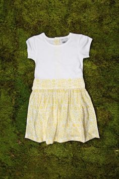 This is totally Abbi's Easter dress. easter dress, play dress