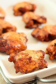 spicy honey brushed chicken