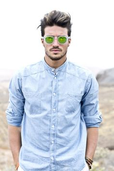 Wear it like a real man, but with style! www.mdvstyle.com/fuerte-ventura