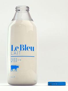 Le Bleu Lait.
