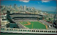 Located in downtown San Francisco, AT&T Park is one of San Francisco's top sports and entertainment venues. Home field for Major League Baseball's San Francisco Giants, AT & T Park also hosts an exciting lineup of concerts, special events and sports, including motocross racing, college football games, and MLS and international soccer games.