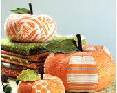 Pumpkin Sewing Pattern - PDF Sewing Pattern Patchwork Pumpkins - Pumpkin Pattern
