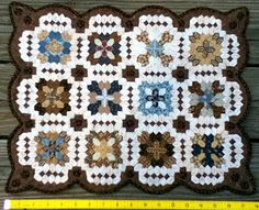 Inklingo Projects: Lucy Boston Patchwork of The Crosses