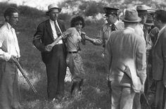 The arrest of Blanche Barrow