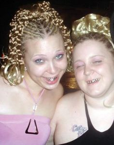 White girls show the bling Prom In The Ghetto