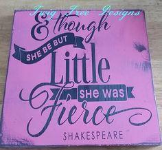 12 x 12 She Was Fierce