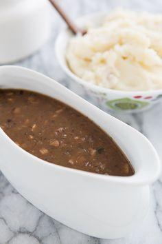 shiitak savori, shallot, savori recip, shiitak gravi, shiitake mushrooms, vegan gravy recipe
