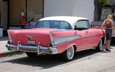 A pink 57 chevy bel air?! I'll take it.