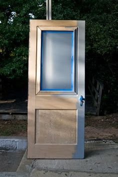 how to add a window to a door