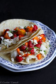 Fish Tacos with Tart