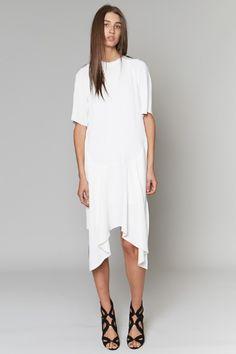 Minimal + Classic: Christopher Esber | Concave Raglan Dress