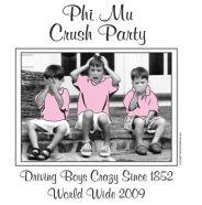 phi mu crush party :)