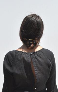 Anaïse // Sylvain Le Hen Hair Pin, Gold