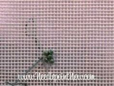 stitch bead, needlepoint stitch